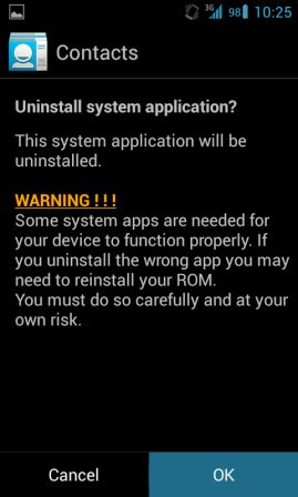 Cara Uninstall Aplikasi System Android