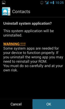 Cara Uninstall Aplikasi System Android