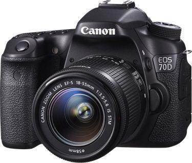 Kamera SLR Canon EOS 70D